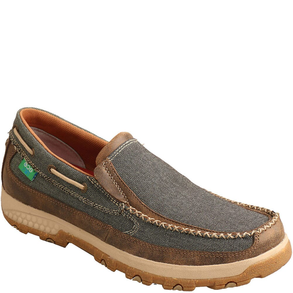 Image for Twisted X Men's CellStretch Driving Moc Slip On Shoes - Eco from bootbay