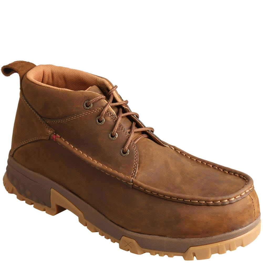 Image for Twisted X Men's CellStretch CT Safety Boots - Saddle from bootbay