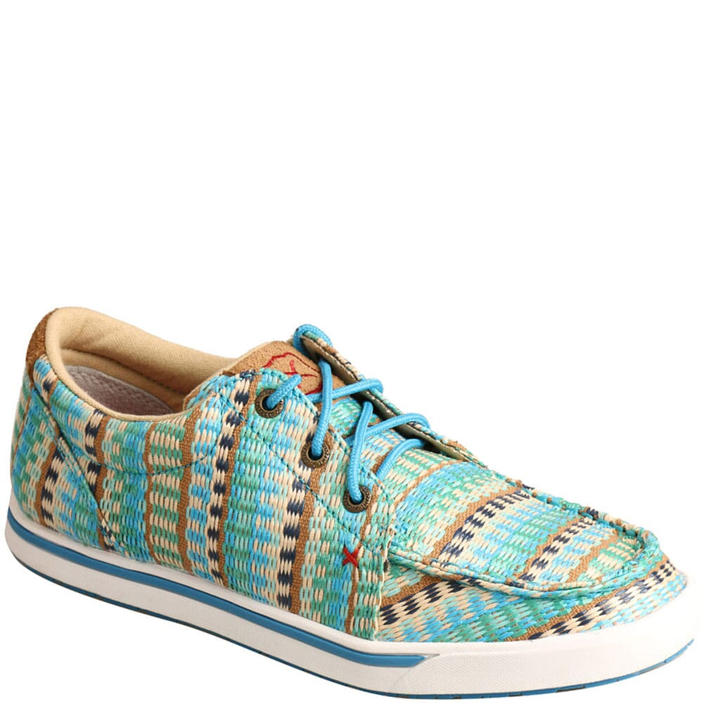 Image for Twisted X Women's Kicks Casual Shoes - Blue Mirage from bootbay
