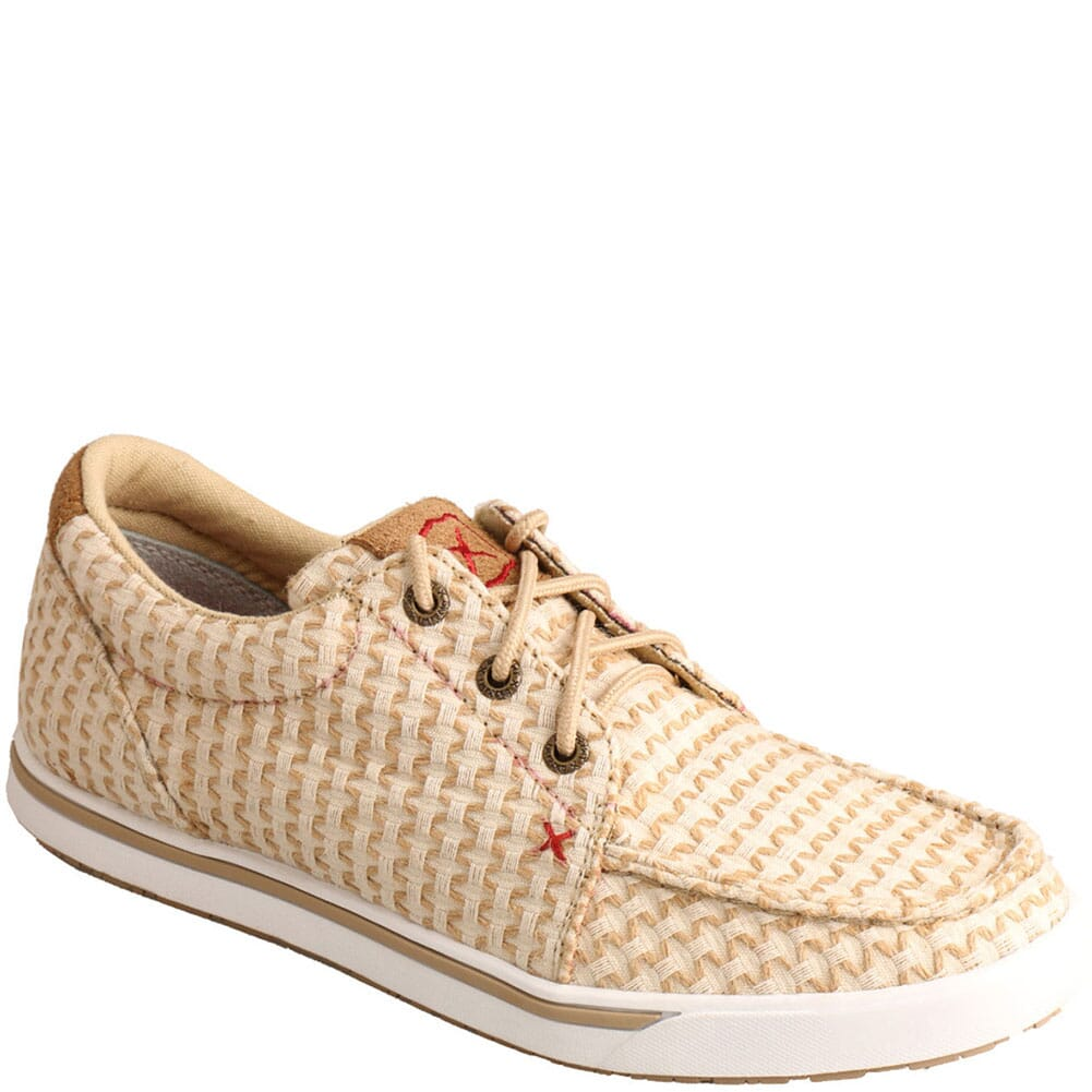 Image for Twisted X Women's Kicks Casual Shoes - Sand Shell Tweed from bootbay
