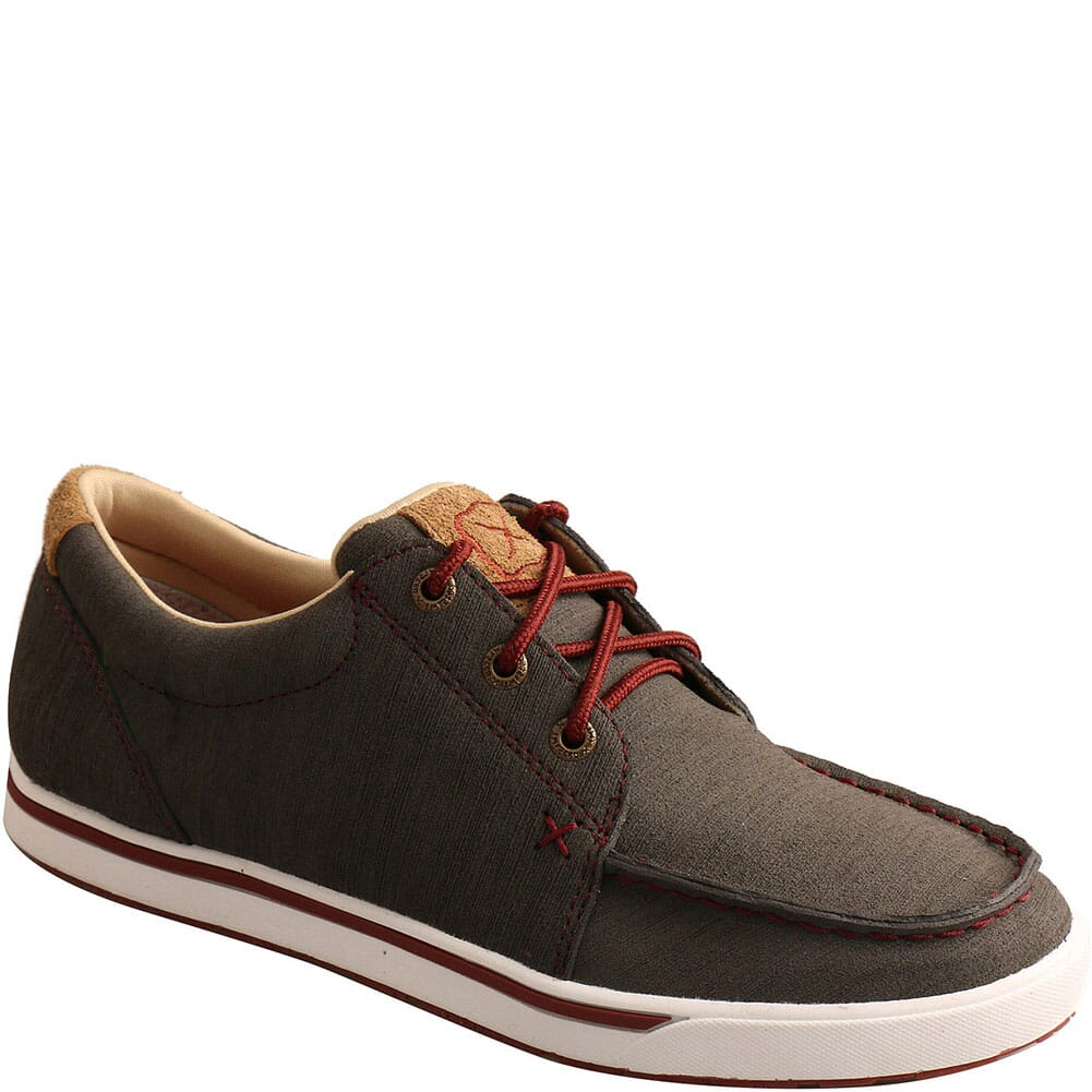 Image for Twisted X Women's Kicks Casual Shoes - Dark Grey/Barn Red from bootbay