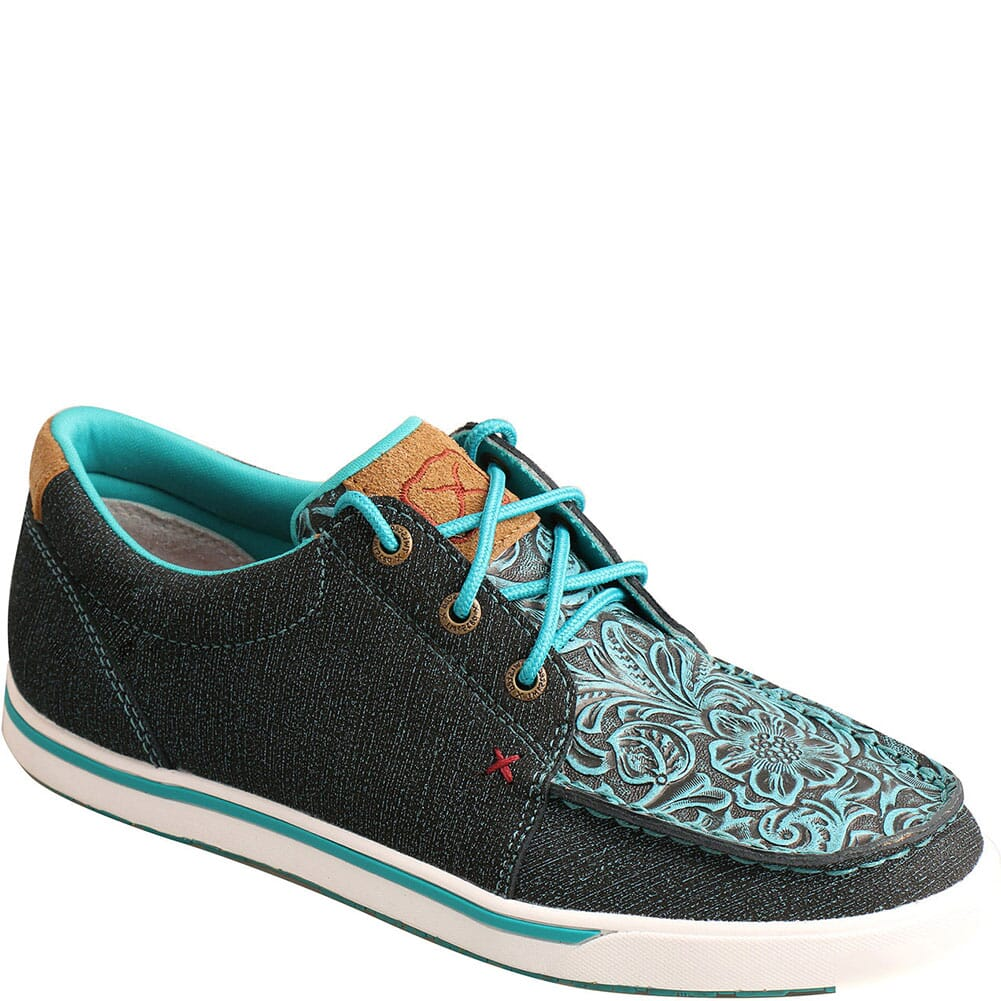 Image for Twisted X Women's Kicks Casual Shoes - Dark Teal/Teal from bootbay