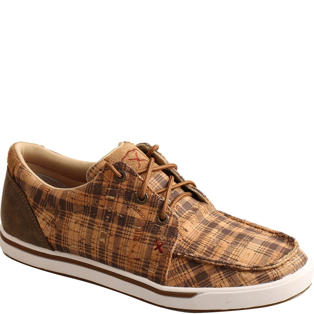 Image for Twisted X Women's Kicks Casual Shoes - Tan/Bomber from bootbay