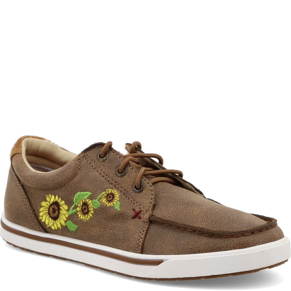 Image for Twisted X Women's Kicks Casual Shoes - Bomber/Sunflower from bootbay