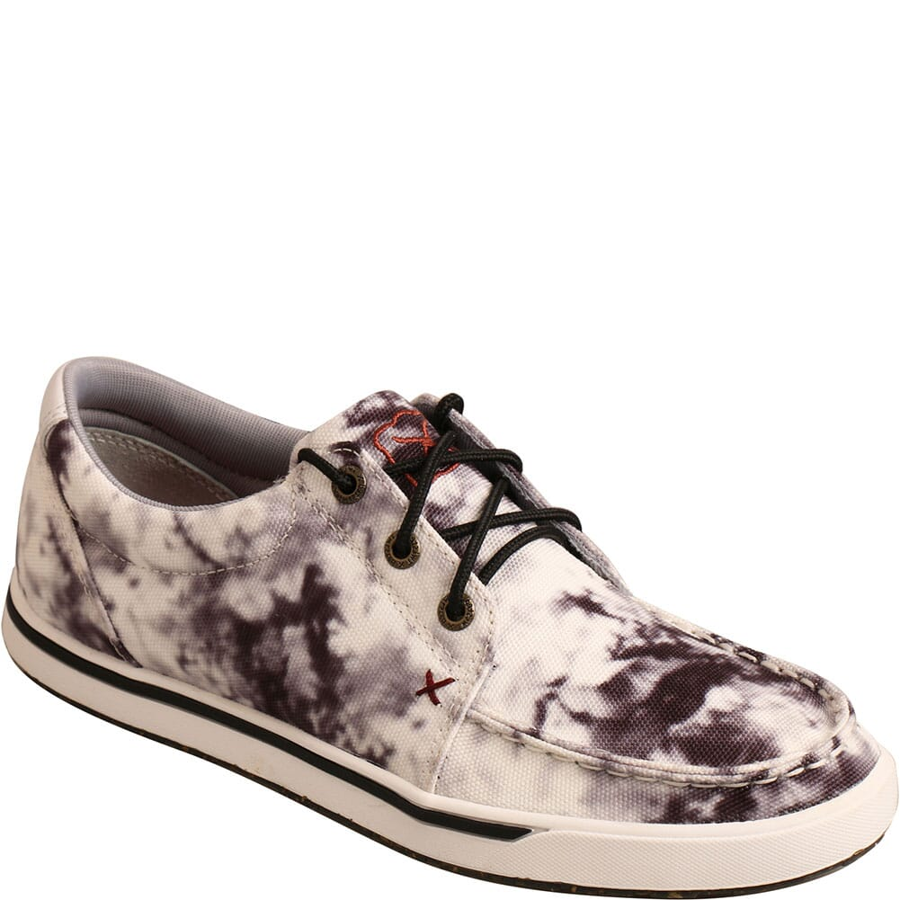 Image for Twisted X Women's Kicks Casual Shoes - Black/White Tie-Dye from bootbay