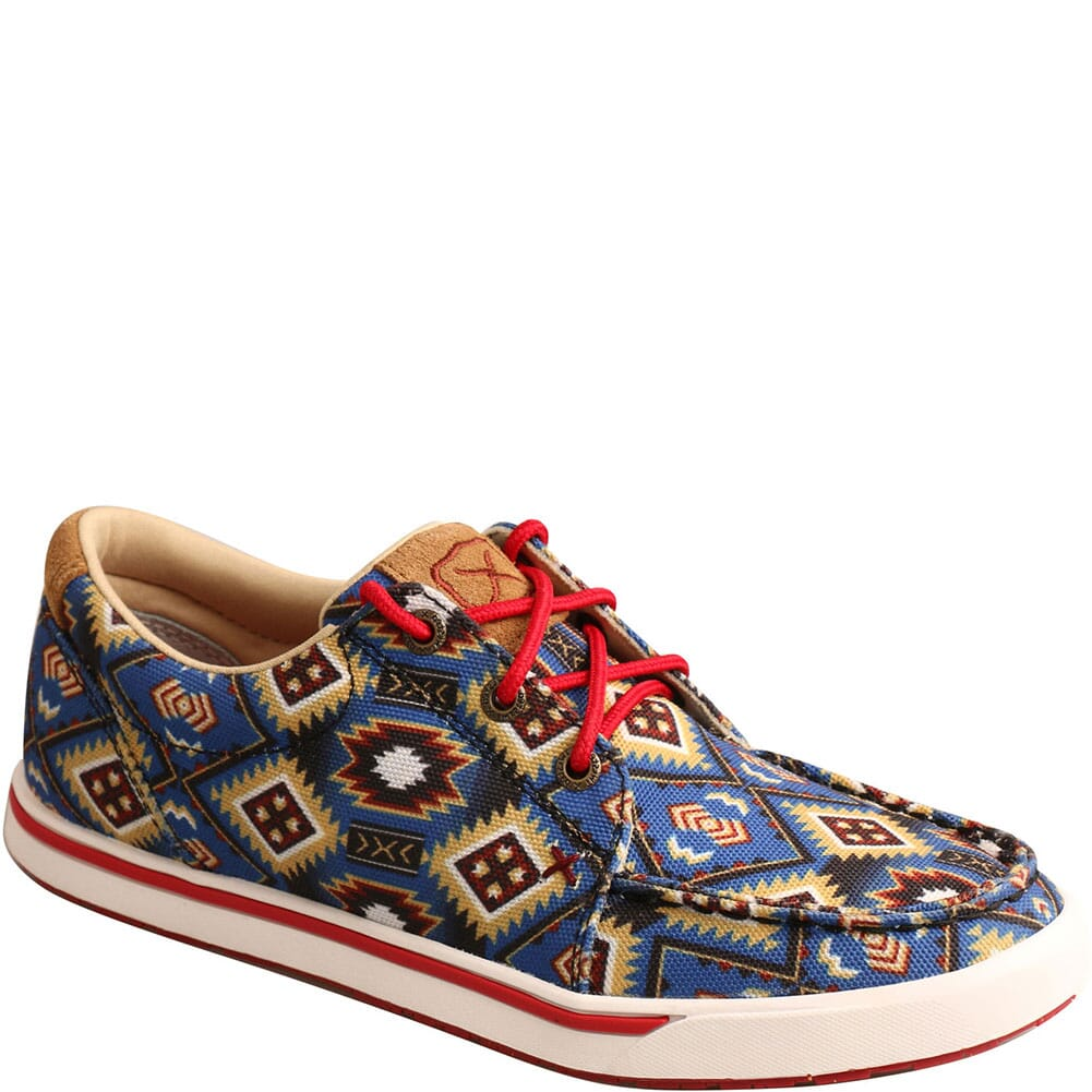 Image for Twisted X Women's Kicks Casual Shoes - Blue Multi Aztec from bootbay