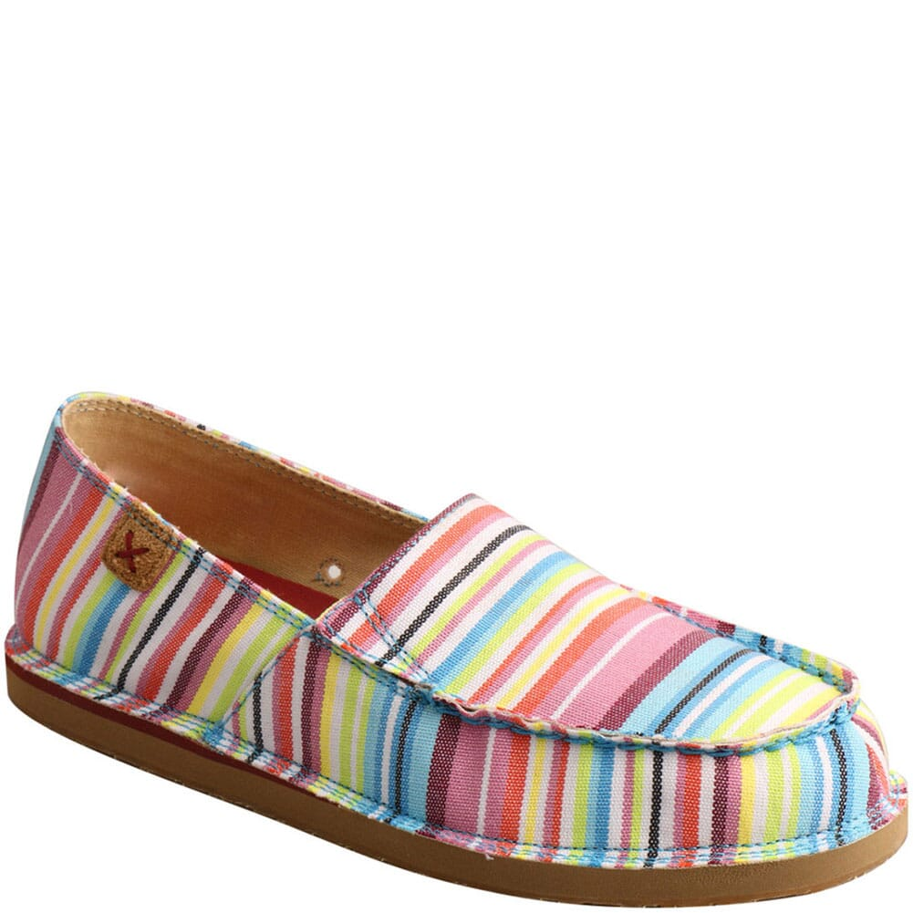 Image for Twisted X Women's Slip-On Loafers - Multi from elliottsboots