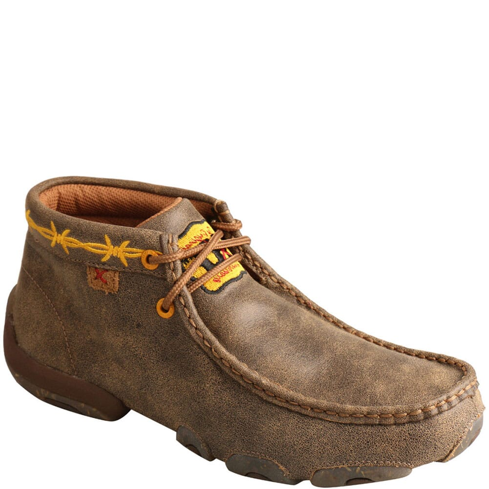 Image for Twisted X Women's 10th Anniversary Chukka Driving Moc - Bomber/Gold from bootbay