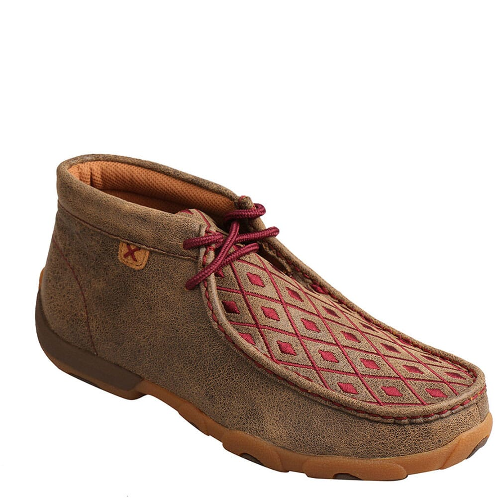 Image for Twisted X Women's Driving Moc Chukka - Bomber/Mahogany from bootbay