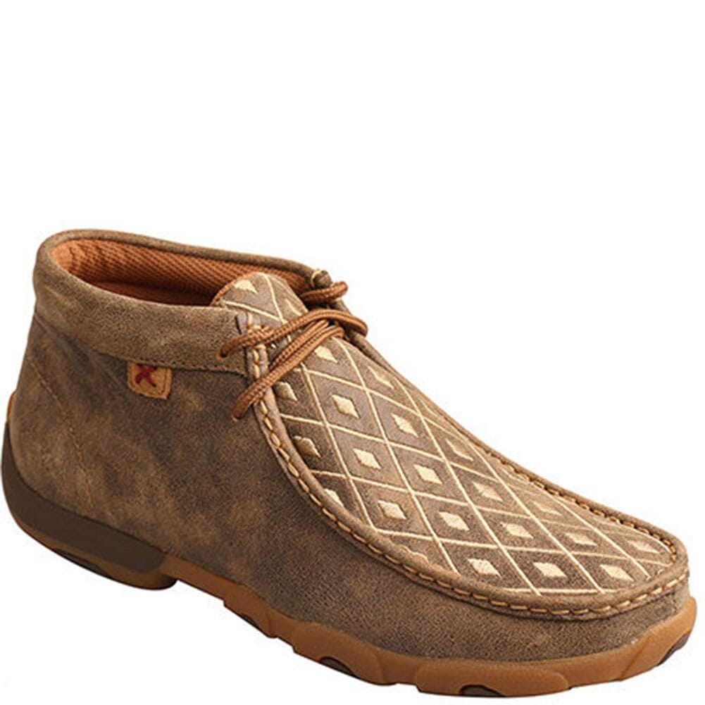 Image for Twisted X Women's Mid Driving Moccasins - Bomber/Tan from bootbay