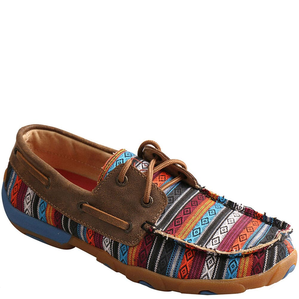 Image for Twisted X Women's Boat Driving Moc Shoes - Serape/Bomber from bootbay