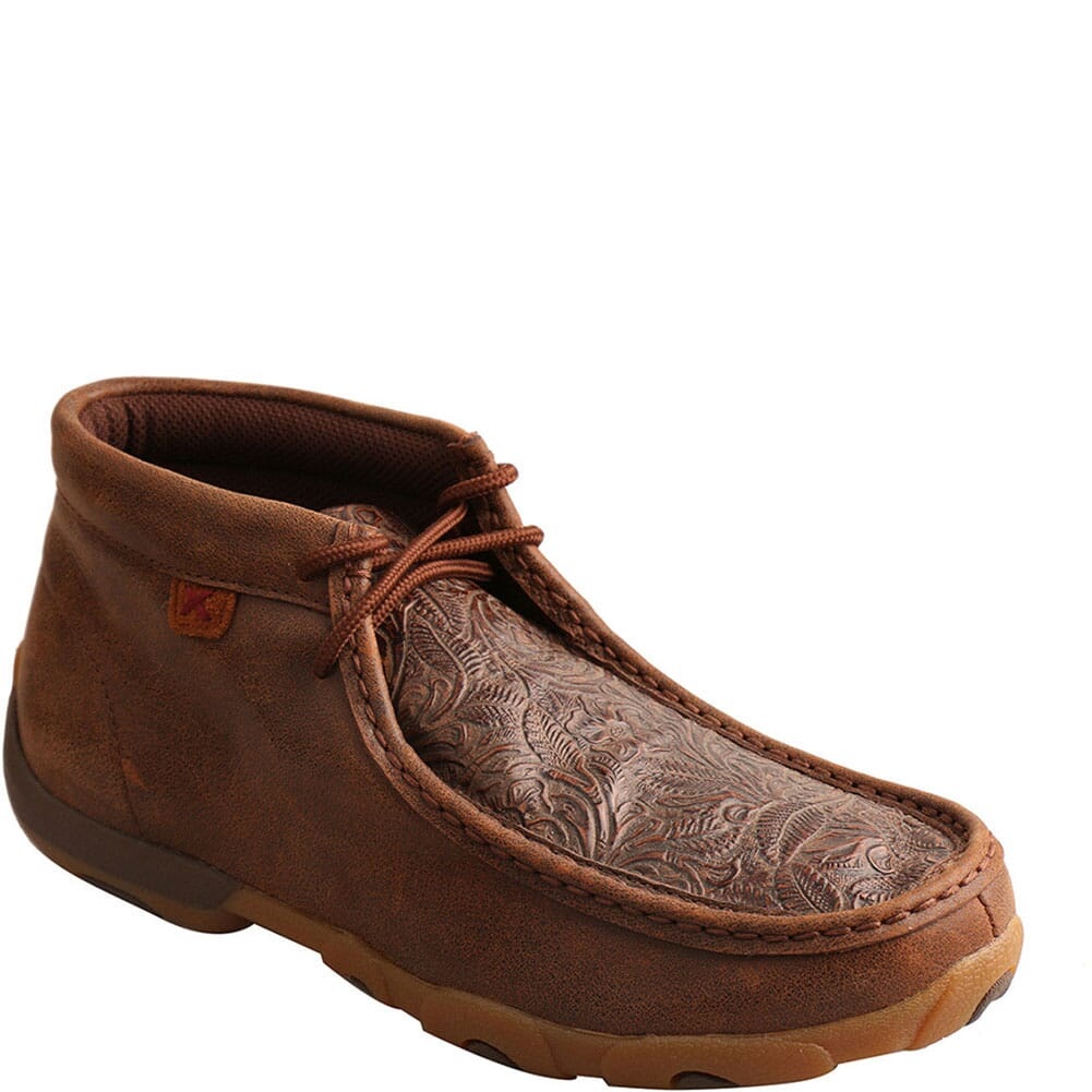 Image for Twisted X Women's Driving Moc Chukka - Brown/Brown Print from bootbay