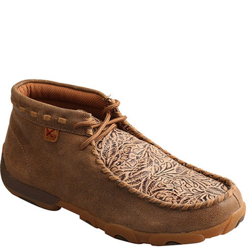 Image for Twisted X Women's Mid Driving Moccasins - Bomber/Nude Print from bootbay