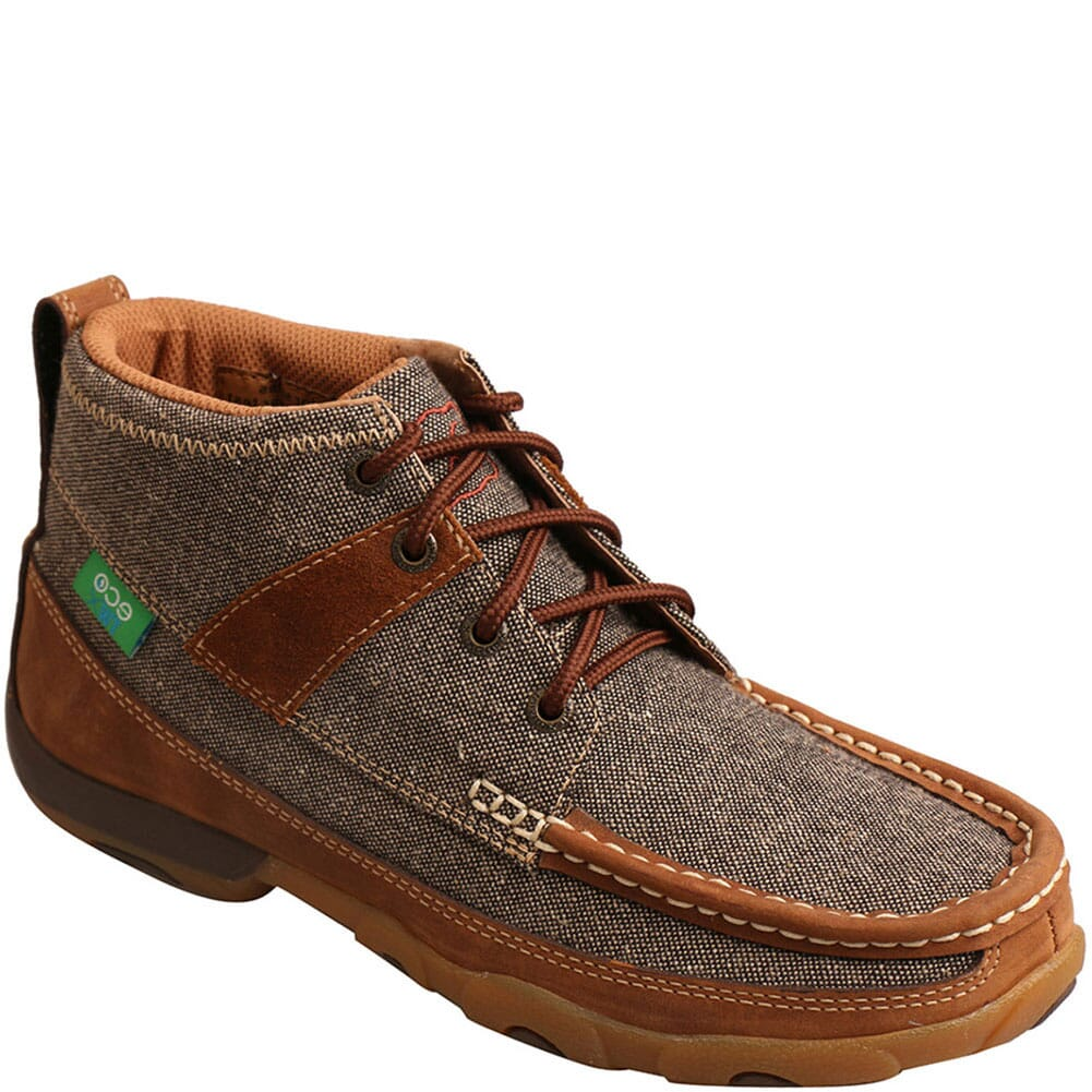 Image for Twisted X Women's Driving Moc Casual Chukka - Dust/Brown from bootbay