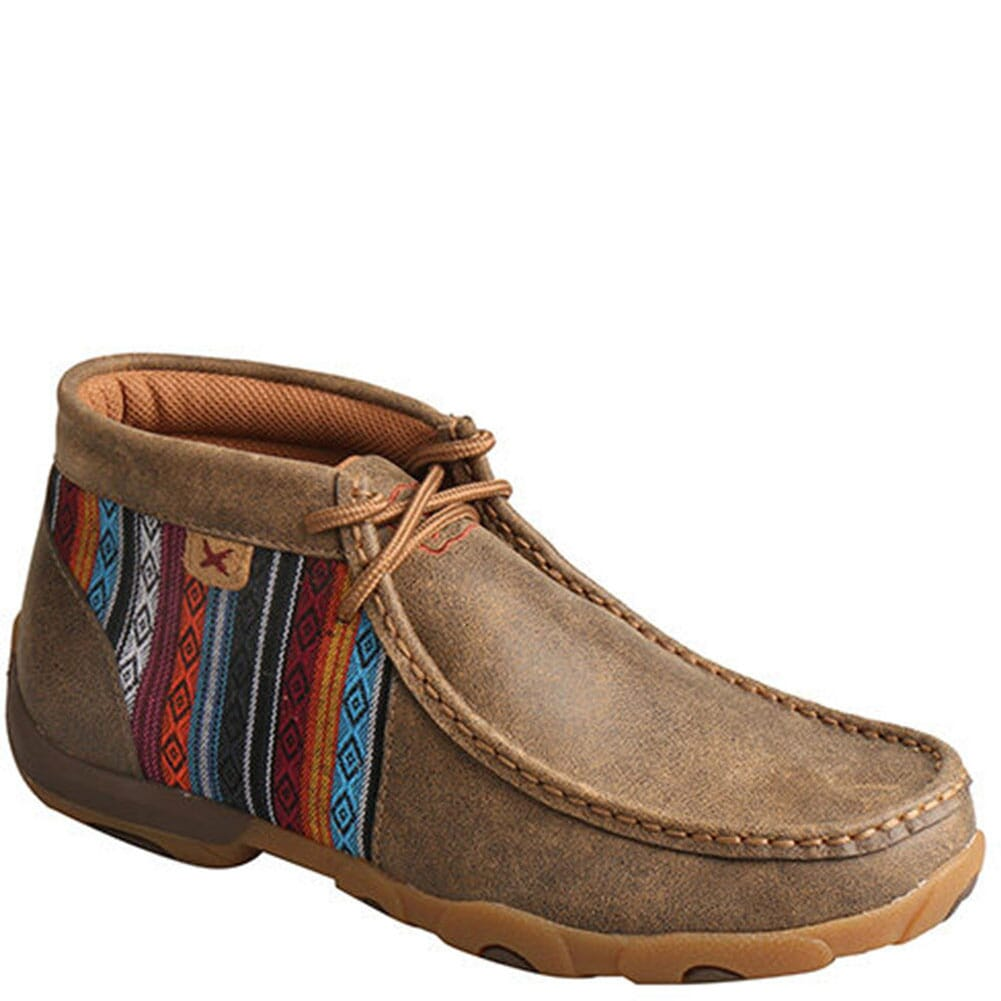 Image for Twisted X Women's Mid Driving Moccasins - Bomber/Multi from bootbay