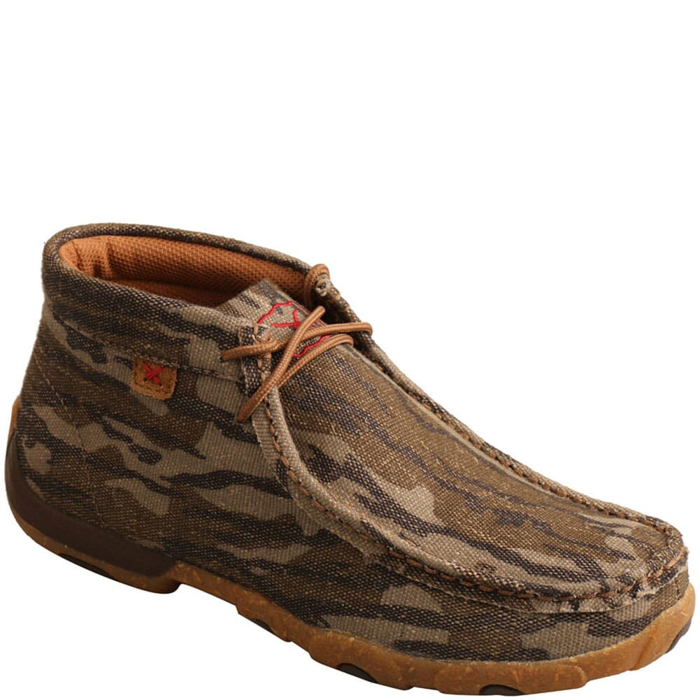 Image for Twisted X Women's Driving Moc Chukka - Camo from bootbay