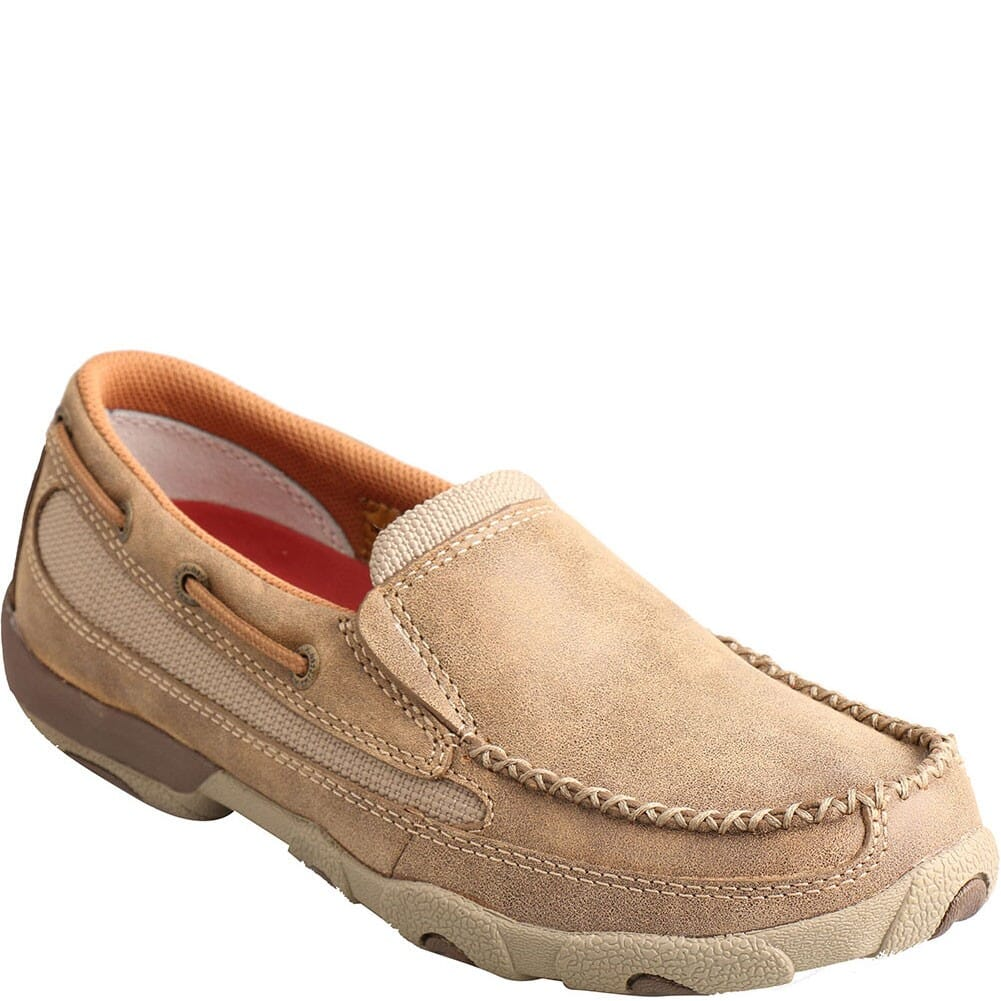 Image for Twisted X Women's Driving Moccasin Casual Slip On - Bomber from bootbay