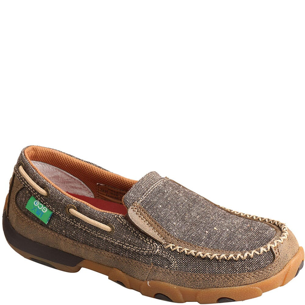 Image for Twisted X Women's Driving Moc Slip Ons - Dust from bootbay