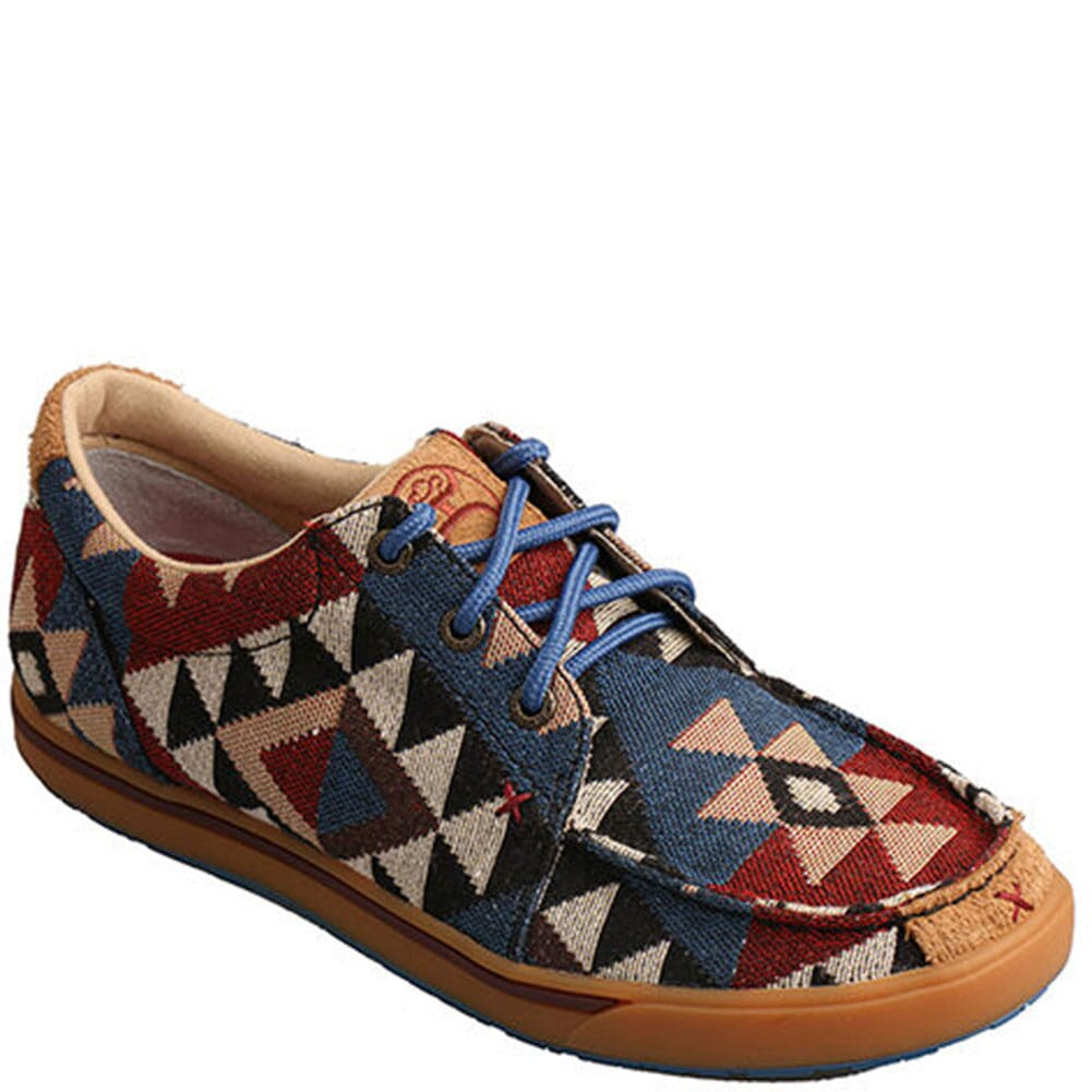 Image for Twisted X Women's Hooey Loper Casual Shoes - Multi from bootbay