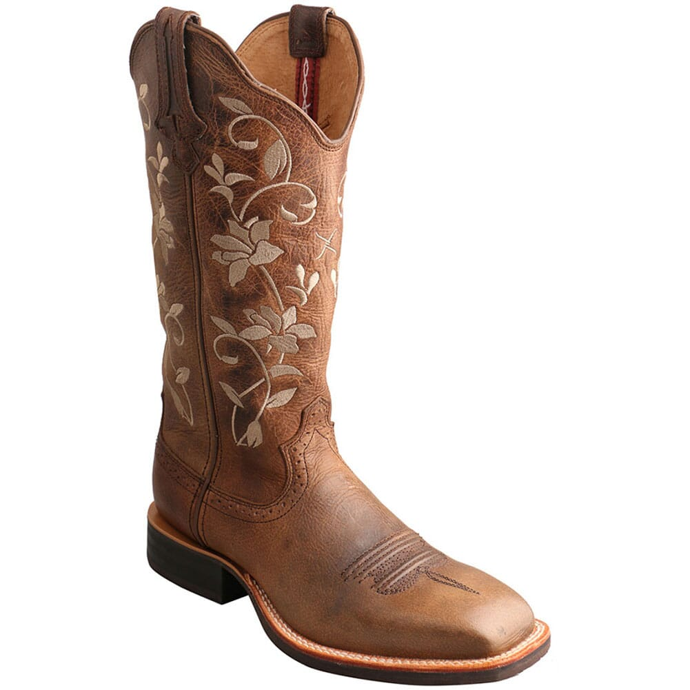 Image for Twisted X Women's Ruff Stock Western Boots from elliottsboots