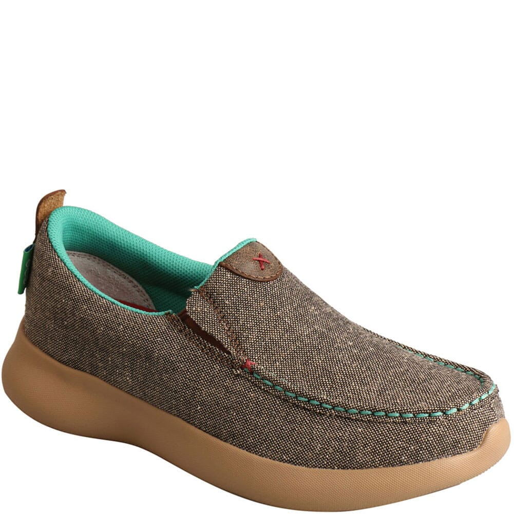 Image for Twisted X Women's Slip-On EVA12R Casual Shoes - Dust from bootbay
