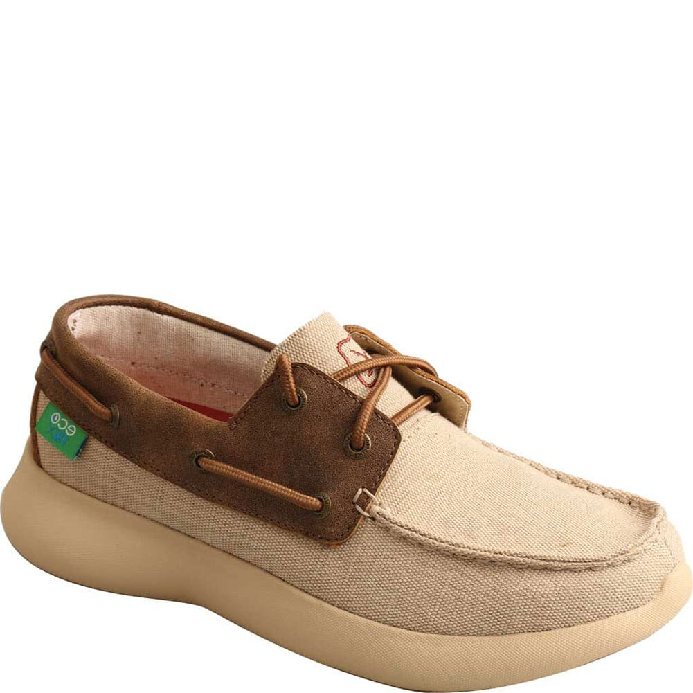 Image for Twisted X Women's Slip-On EVA12R Casual Shoes - Khaki/Bomber from bootbay