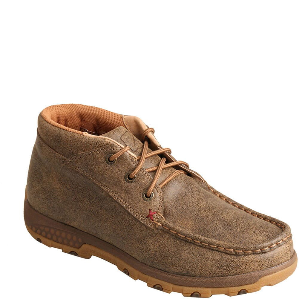 Image for Twisted X Women's Driving Moc CellStretch Casual Chukka - Bomber from bootbay