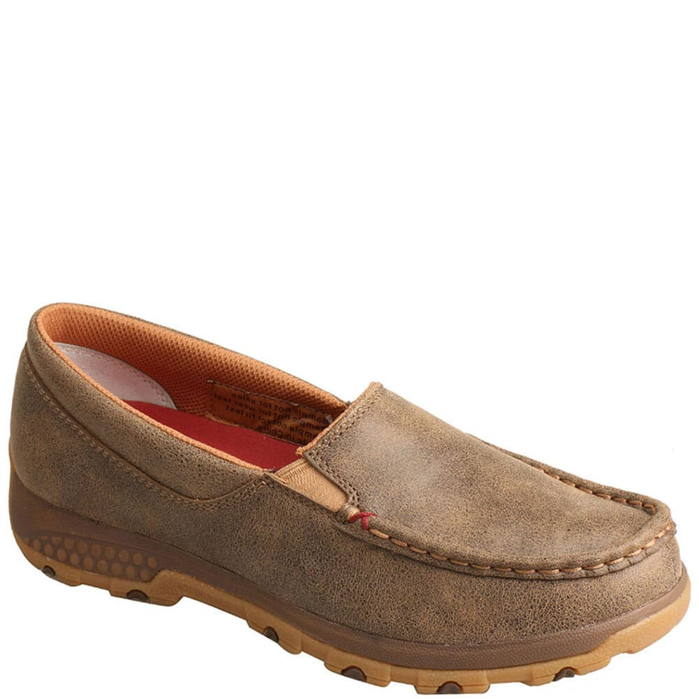 Image for Twisted X Women's Driving Moc CellStretch Casual Slip-On - Bomber from bootbay