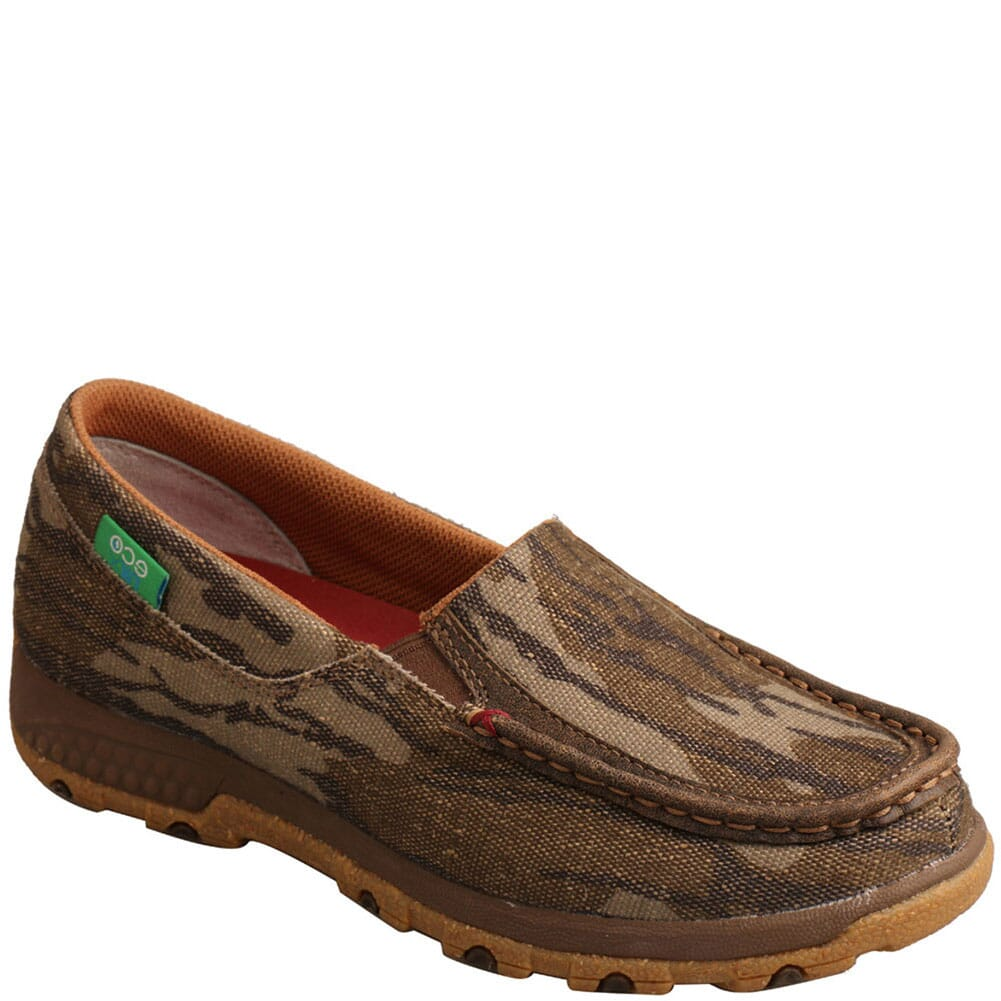 Image for Twisted X Women's Slip-on Driving Moc - Camo from bootbay