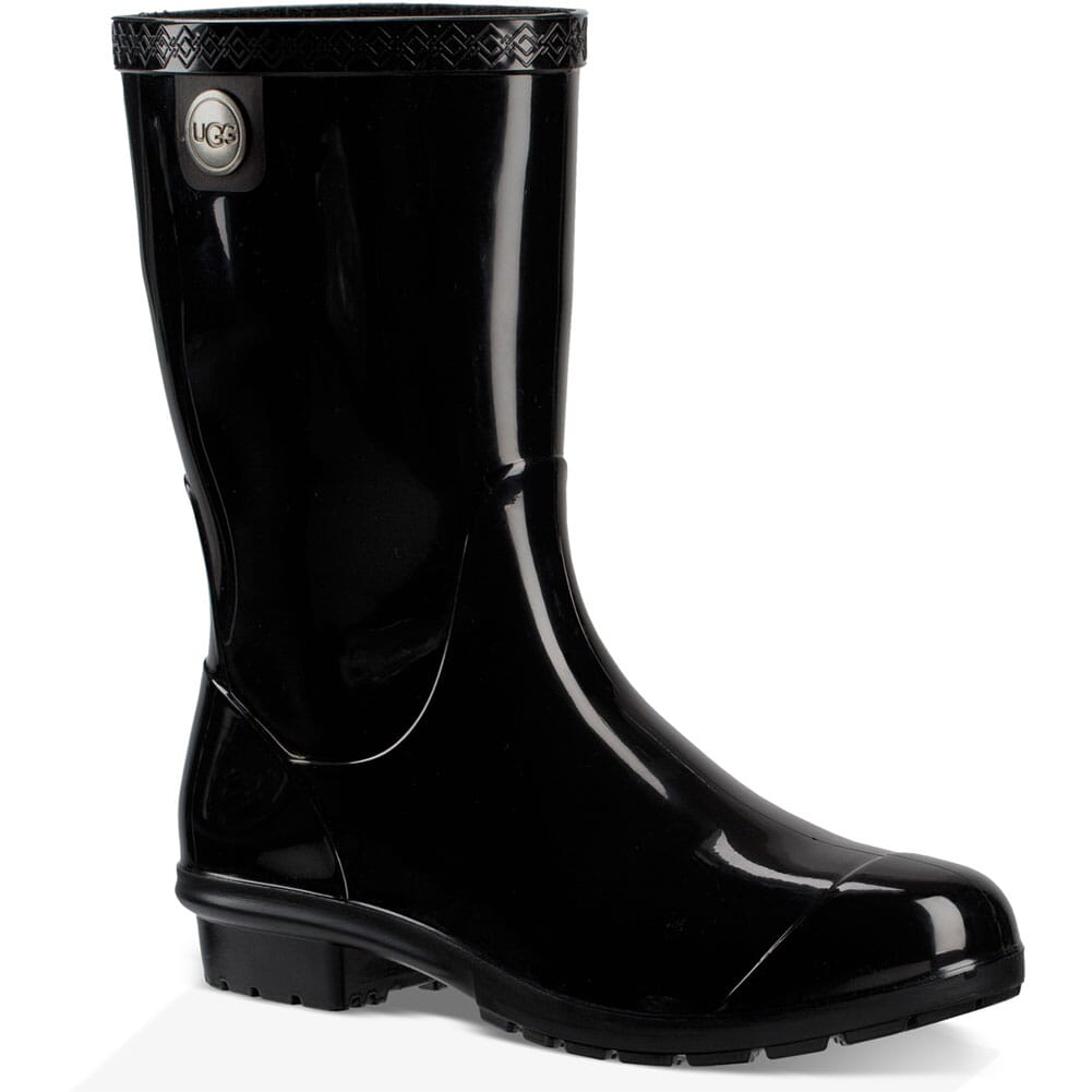 Image for UGG Women's Sienna Rubber Boots - Black from elliottsboots
