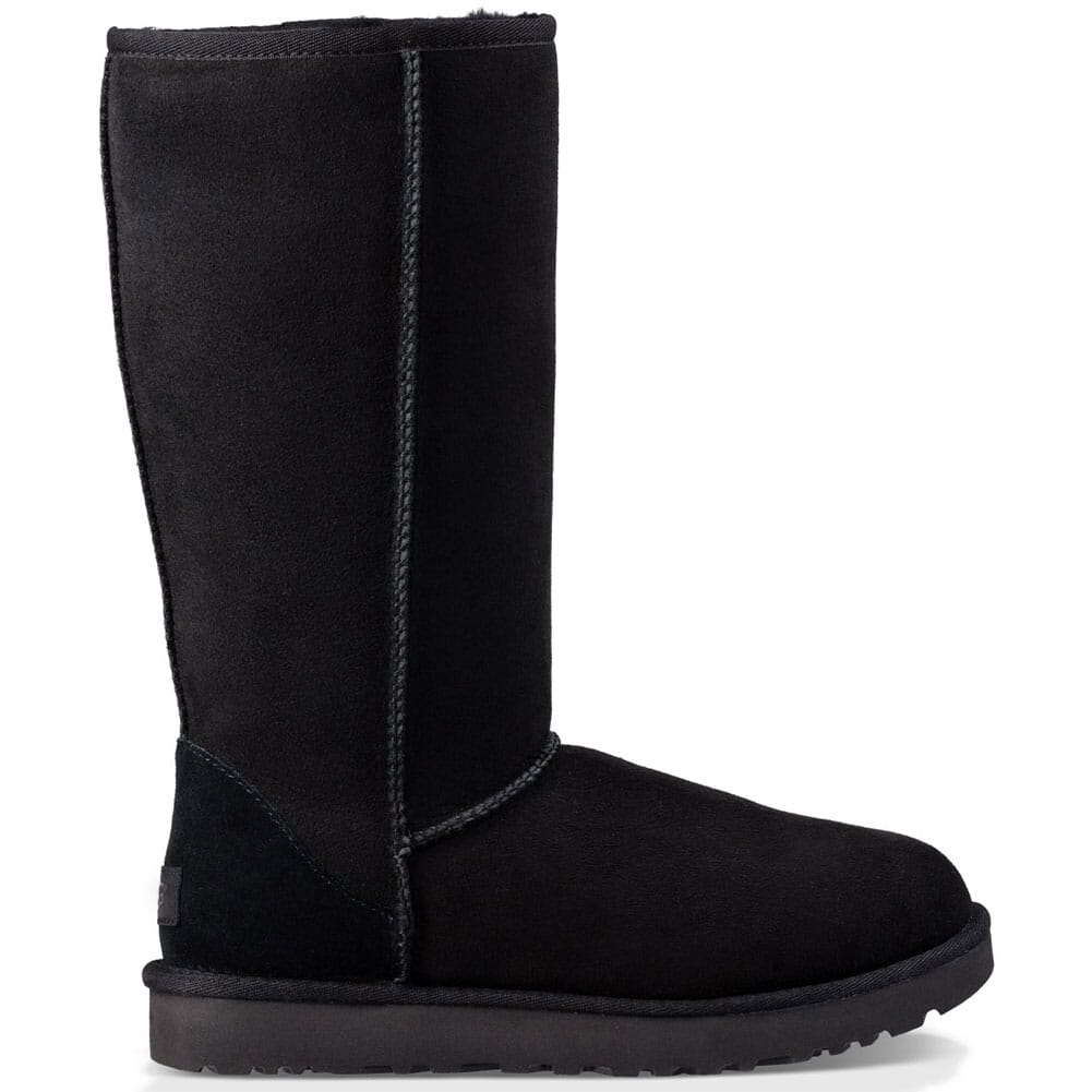 Image for UGG Women's Classic II Tall Casual Boots - Black from bootbay