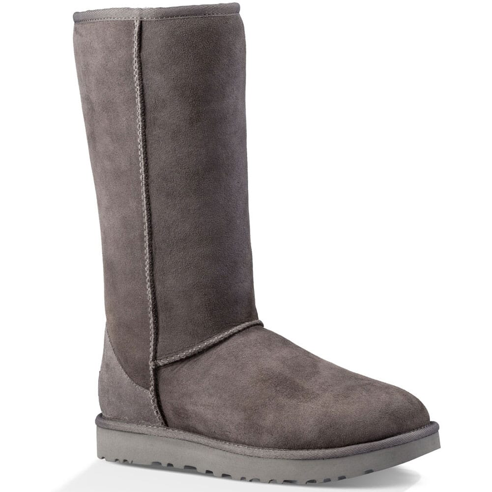 Image for UGG Women's Classic II Tall Casual Boots - Grey from bootbay