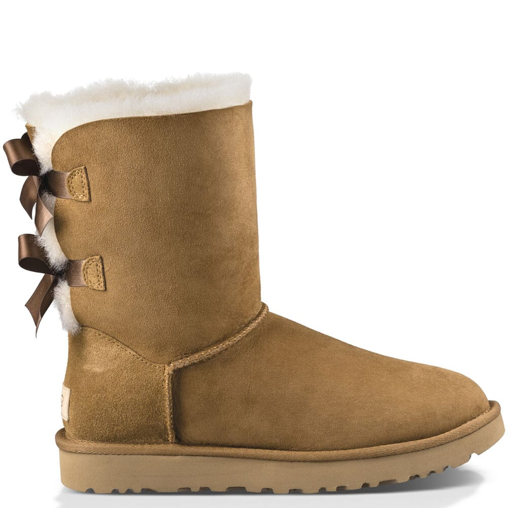 Image for UGG Women's Bailey Bow II Casual Boots - Chestnut from bootbay
