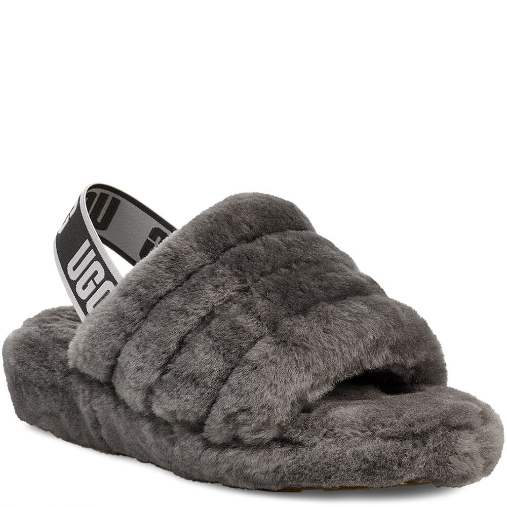 Image for UGG Women's Fluff Yeah Slippers - Charcoal from bootbay
