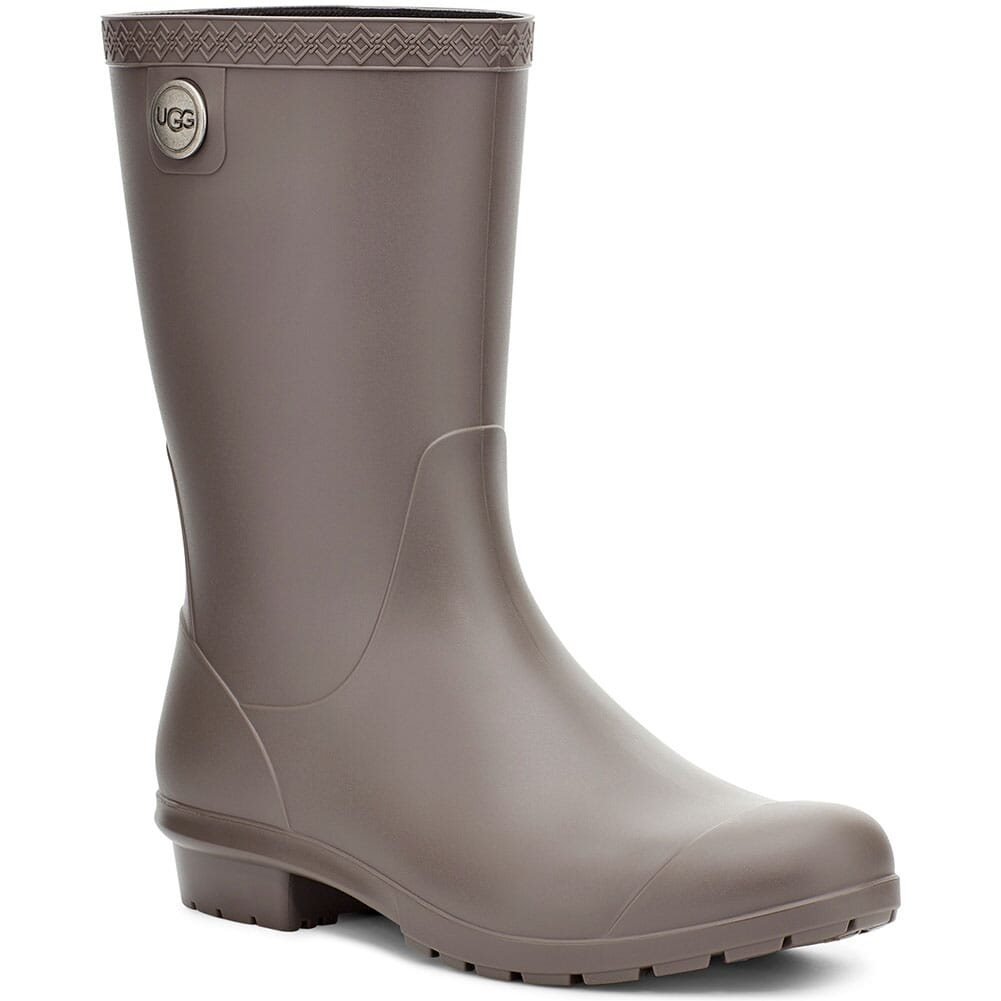 Image for UGG Women's Sienna Matte Rain Boots - Charcoal from bootbay