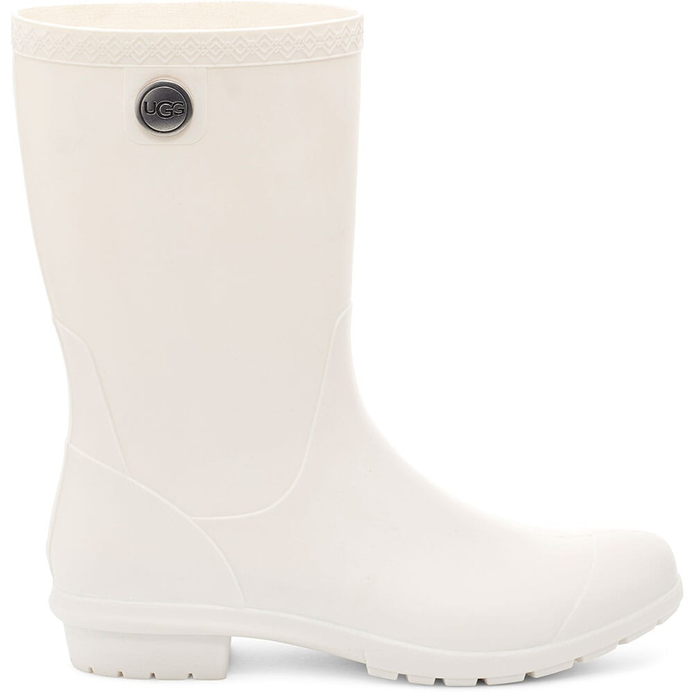 Image for UGG Women's Sienna Matte Rain Boots - White from bootbay