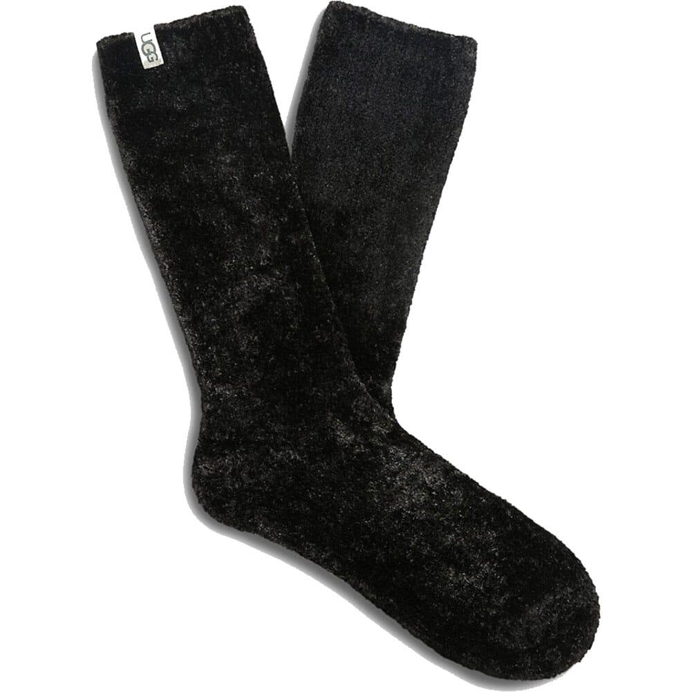 Image for UGG Women's Leda Cozy Socks - Black from bootbay