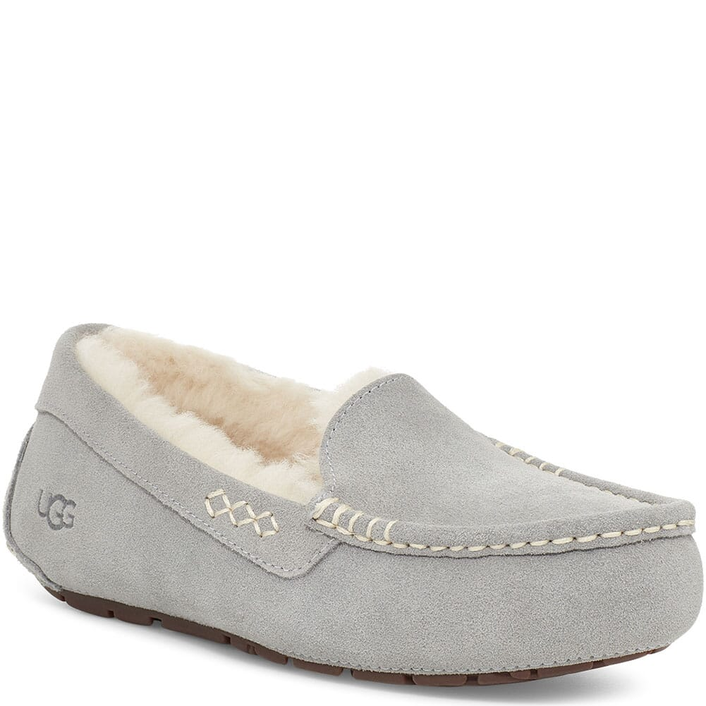 Image for UGG Women's Ansley Casual Slippers - Light Gray from bootbay
