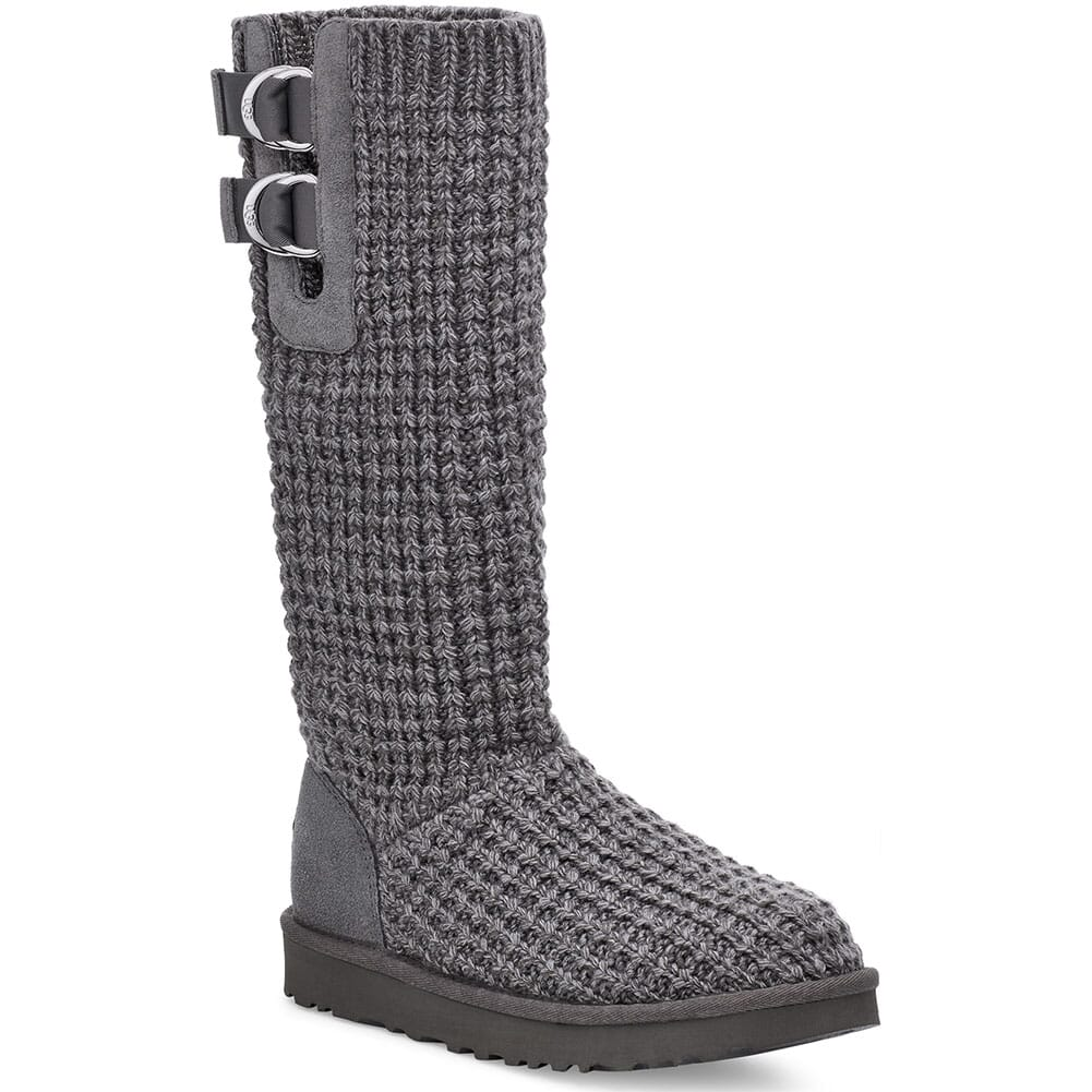Image for UGG Women's Classic Solene Tall Casual Boots - Charcoal from bootbay