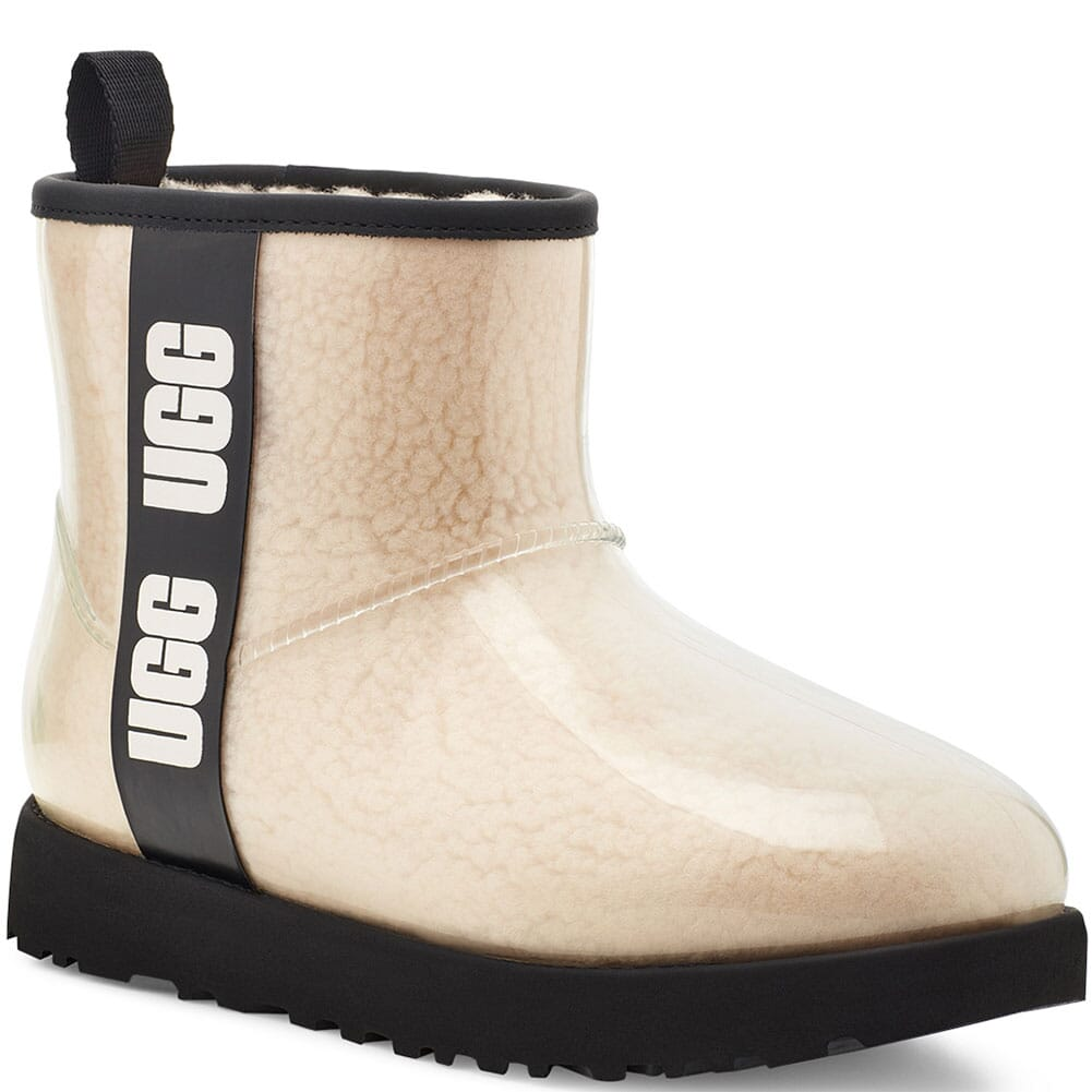 Image for UGG Women's Classic Clear Mini Casual Boots - Natural/Black from bootbay