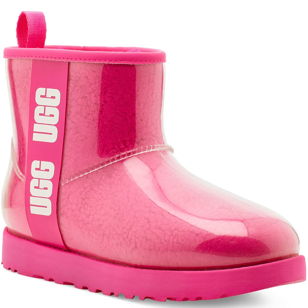 Image for UGG Women's Classic Clear Mini Casual Boots - Rock Rose from bootbay