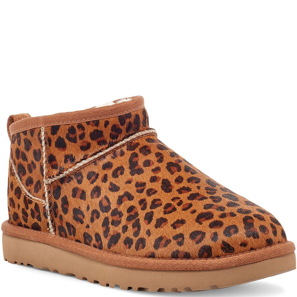 Image for UGG Women's Classic Ultra Mini Casual Boots - Leopard from bootbay