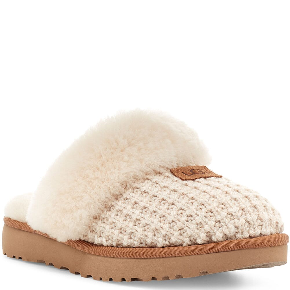 Image for UGG Women's Cozy Casual Slippers - Cream from bootbay