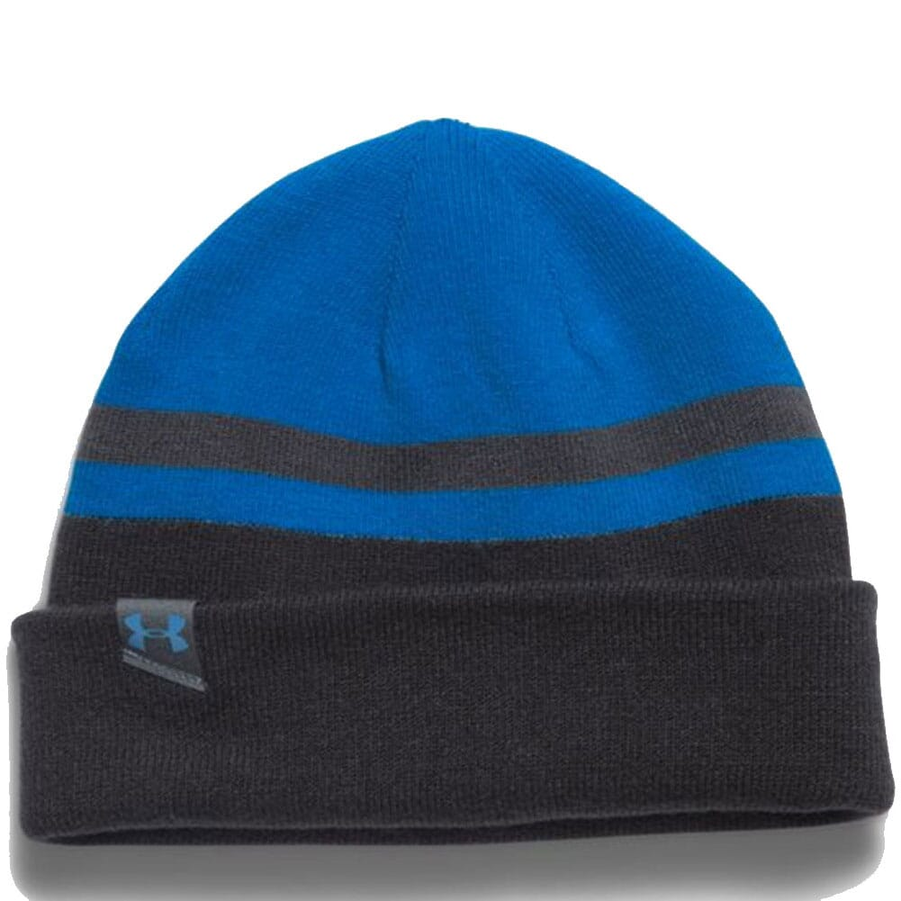 Image for Under Armour Men's 4-in-1 Beanie 2.0 - Blue Jet from bootbay