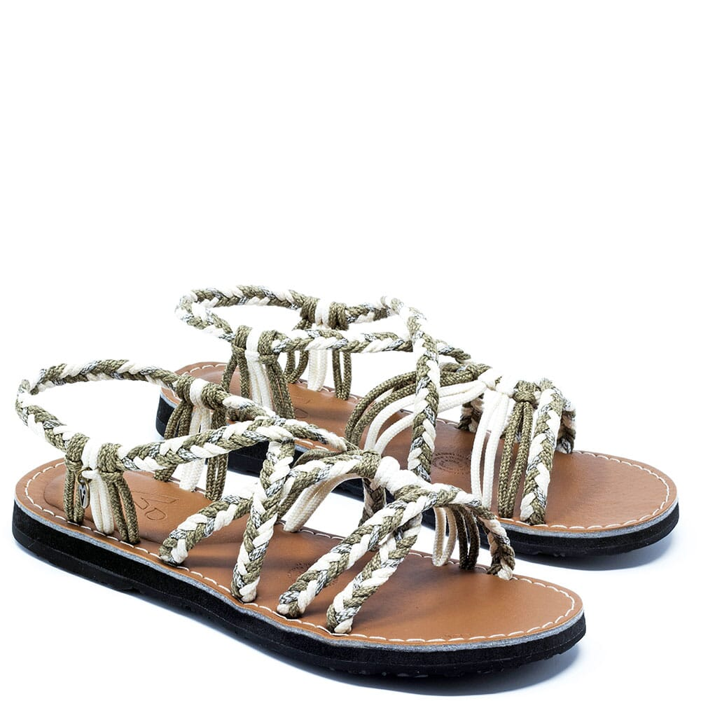 Image for Vines Islandwear Women's Cappuccino Freestyle Sandals - Brown/Cre from elliottsboots