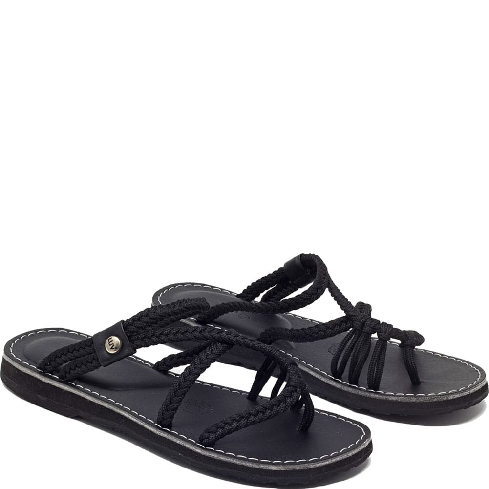 Image for Vines Islandwear Women's Midnight Slides - Black from bootbay