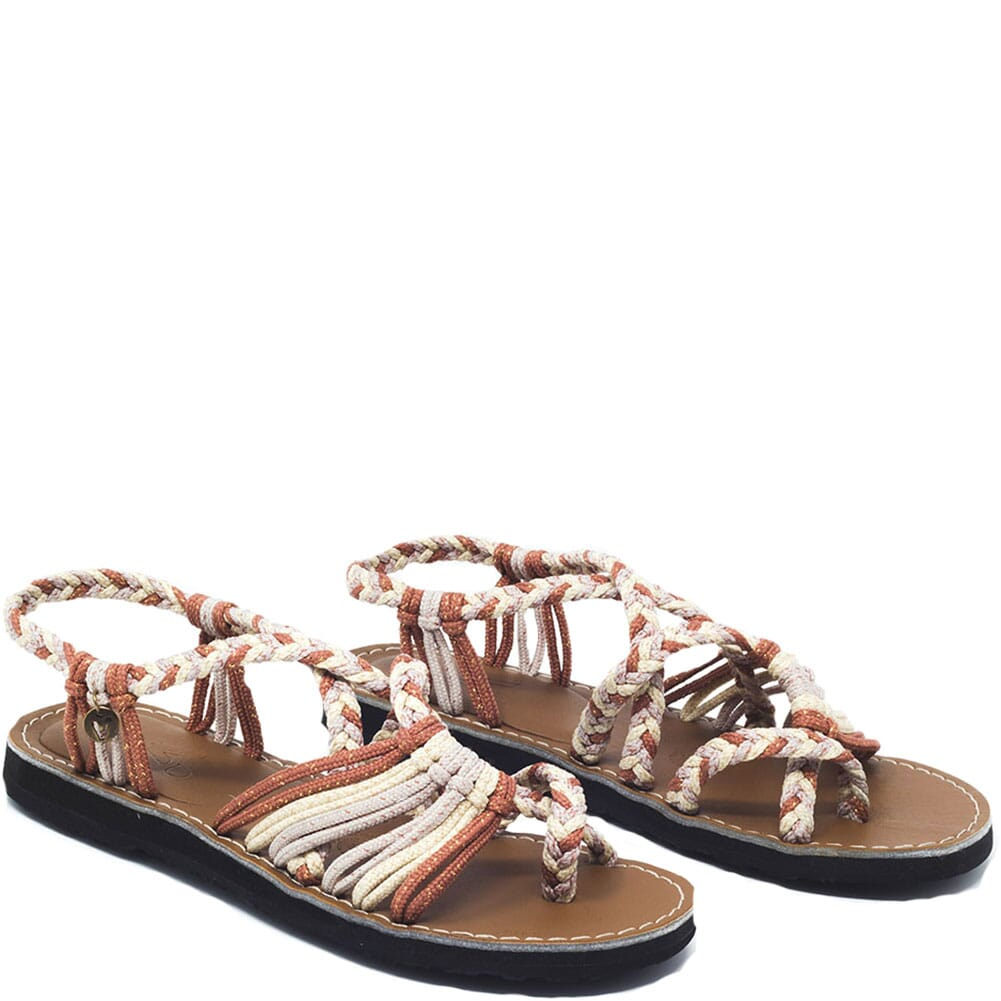 Image for Vines Islandwear Women's Sweet Thing X Sandals - Rose/Cream/Gold from elliottsboots