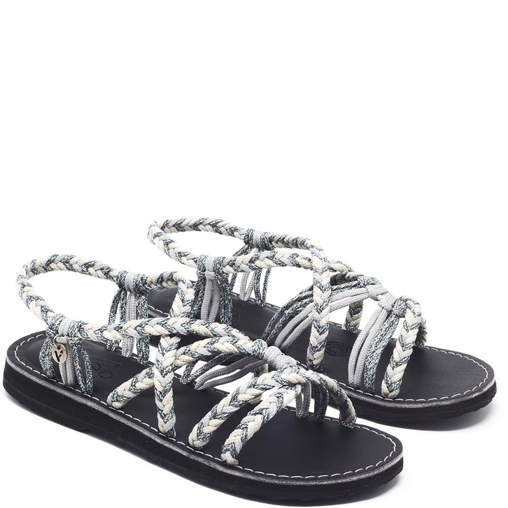 Image for Vines Islandwear Women's Salty Freestyle Sandals - Grey/Cream from bootbay
