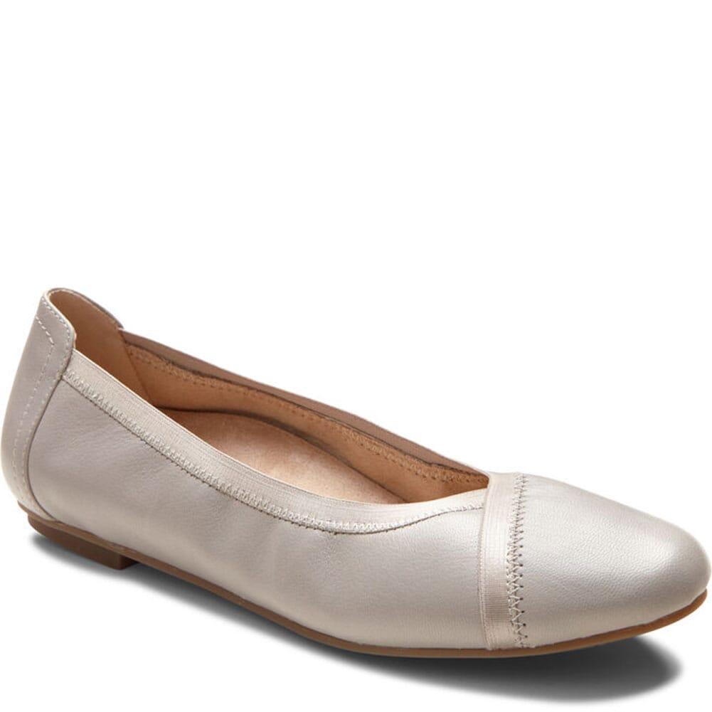 Image for Vionic Women's Spark Carroll Ballet Flats - Light Gray from bootbay