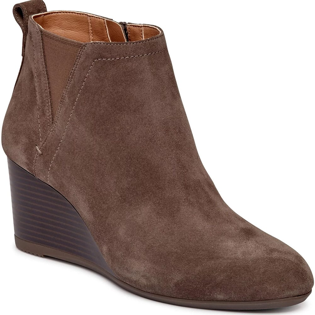 Image for Vioinc Women's Paloma Wedge Casual Boots - Greige from bootbay